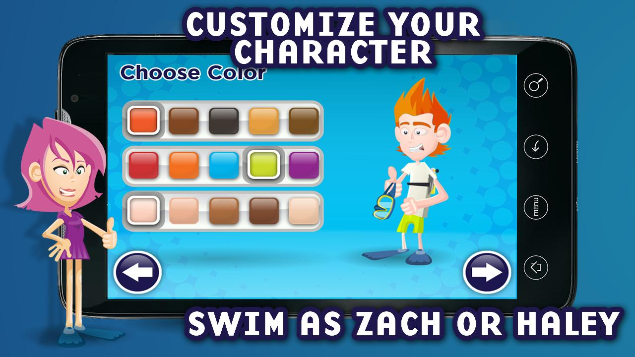 Zach and Haley SCUBA Adventure - screenshot