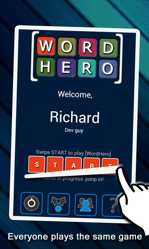 WordHero : Word Hero - screenshot