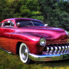 50 Merc by David Kawchak - Transportation Automobiles ( chopped merc, chopped 1950 mercury, 1950 mercury, 50 merc, 1950 custom mercury )