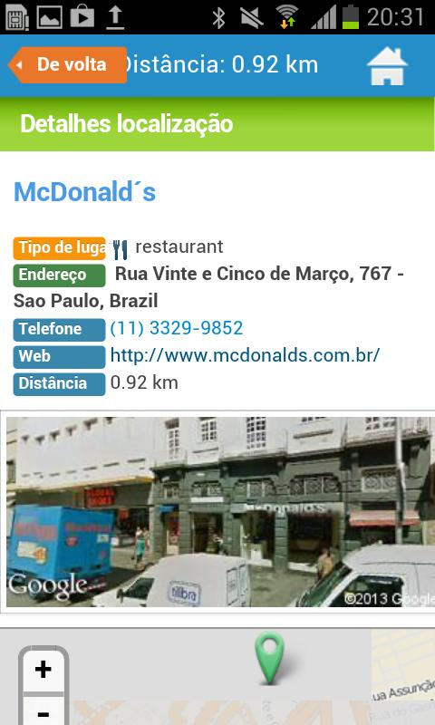 Sao Paulo Guide Map & Hotels - screenshot