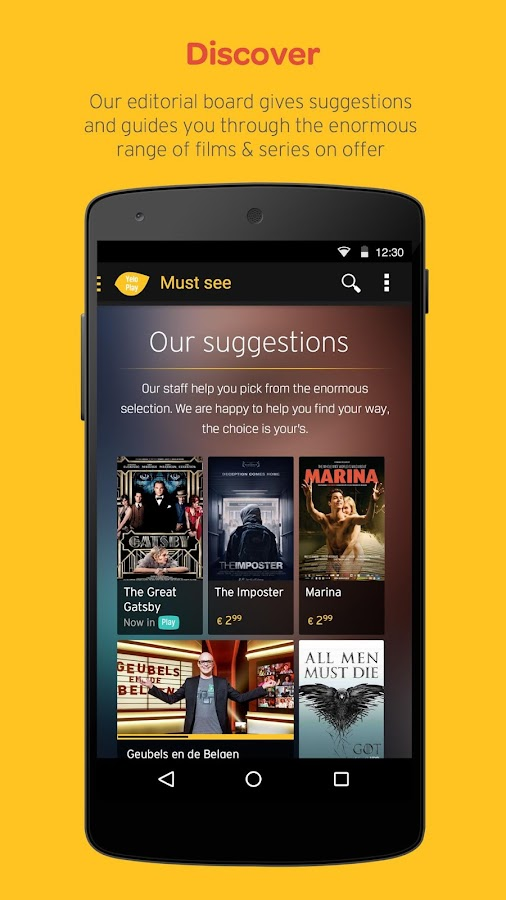 Yelo Play - screenshot