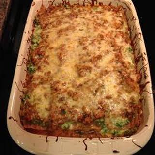 Delicious Spinach and Turkey Lasagna.