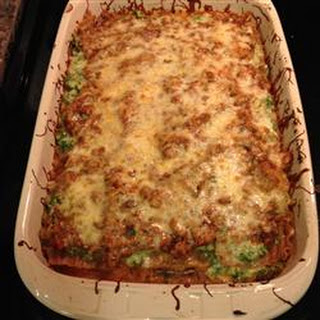 Delicious Spinach and Turkey Lasagna.