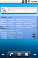 Screenshot of Agenda Messenger