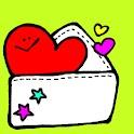 無料デコメ絵文字取り放題 LOVEデコメール logo