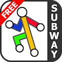 New York Subway Free by Zuti icon