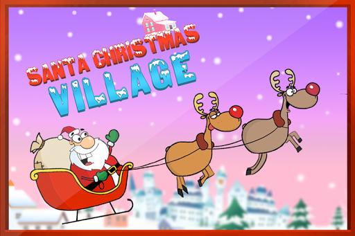 サンタのクリスマスの村