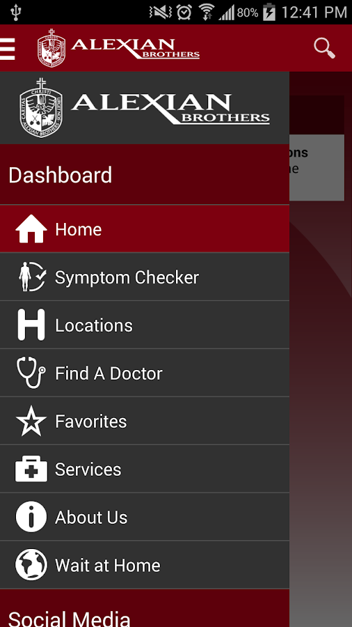 Alexian Brothers Health System - screenshot