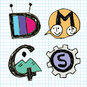 Scribble Note Atom Iconpack icon
