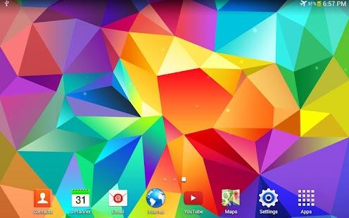 Galaxy S5 動態桌布