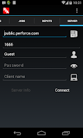 Screenshot of P4A (Perforce for Android)
