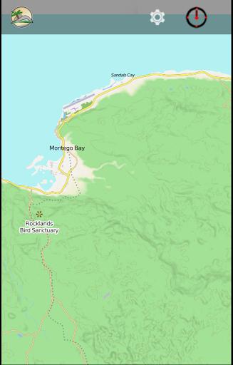 JAMAICA travel map