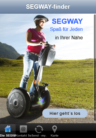 SEGWAY-finder