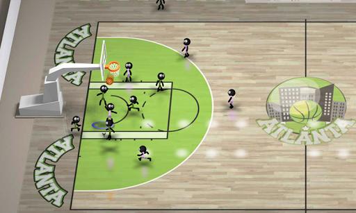 Stickman Basketball Screenshot