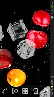Cherry juice live wallpapers screenshot
