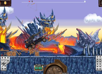 Monster Car Hill Racer v1.6