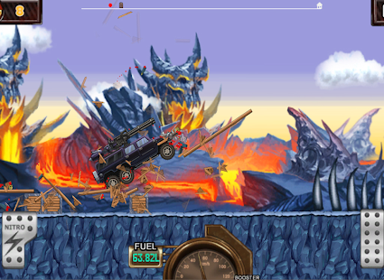 Monster Car Hill Racer Screenshot 14