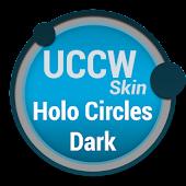 Holo Circles Dark - UCCW Skin