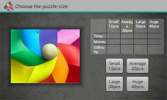 Screenshot of Spectrum Puzzles
