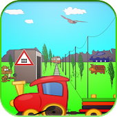 Train Game for Kids free