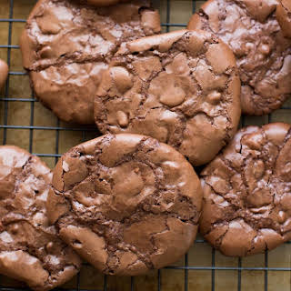 Flourless Chocolate Brownie Cookies.