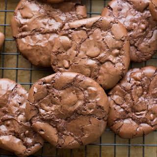 Flourless Chocolate Brownie Cookies.