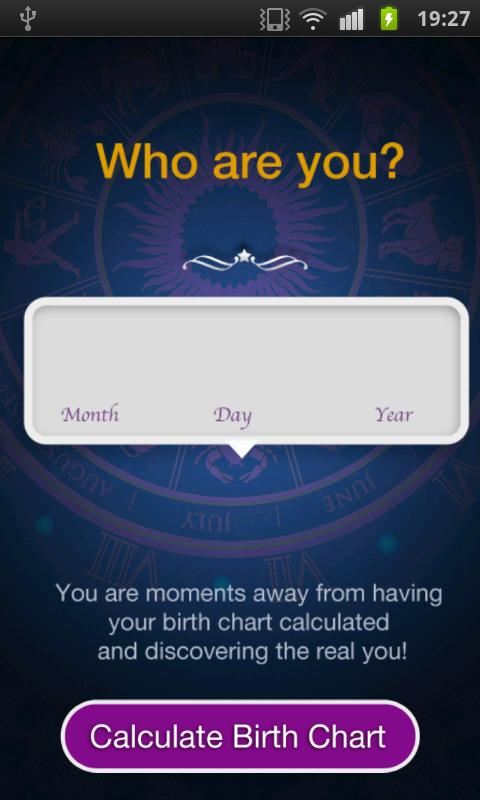 Horoscope - Birth Chart- screenshot