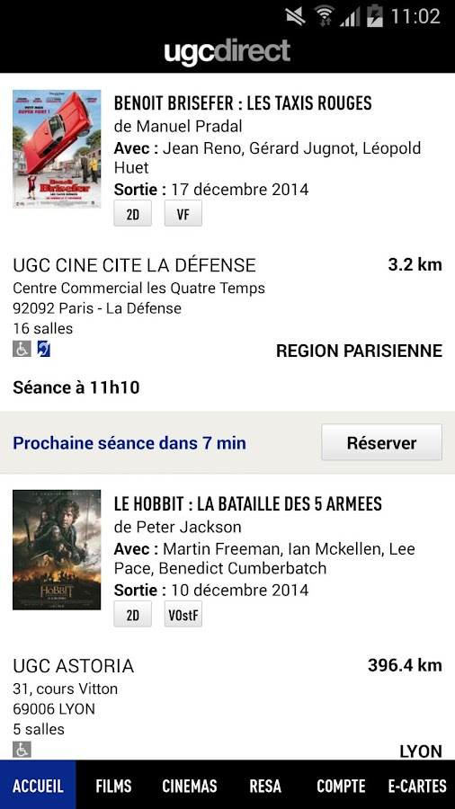 UGC Direct - Films et Cinéma - screenshot