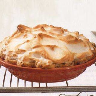 Lemon Meringue Pie with Pecan Crust