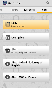 OfficeSuite Oxford English- screenshot thumbnail