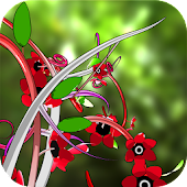 Jungle of Flowers 3D LWP Free