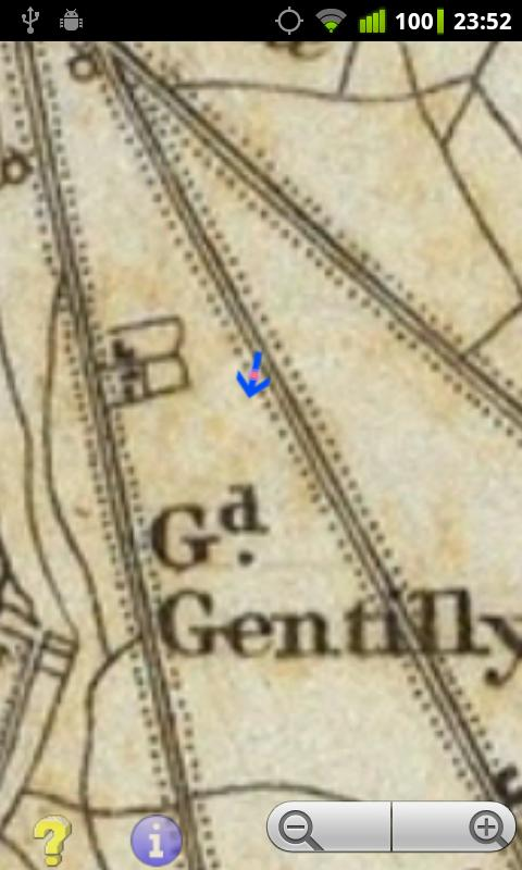 Offline GPS Paris 1832- screenshot