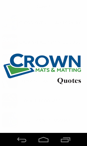 Crown Mats Quote