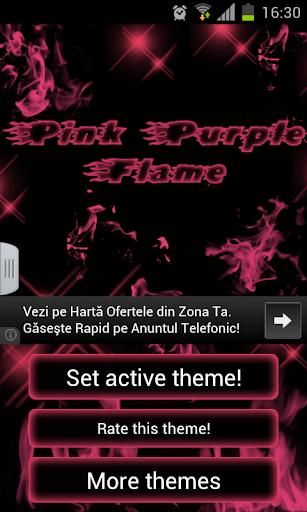 粉紅色紫色GO主題