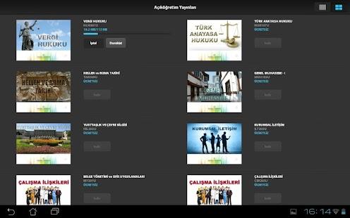 Açıköğretim Yayınları - screenshot thumbnail