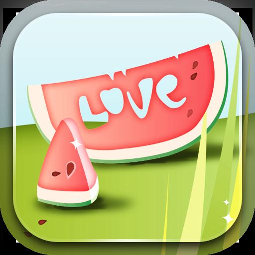 甜蜜的愛情動態壁紙 個人化 App LOGO-APP試玩