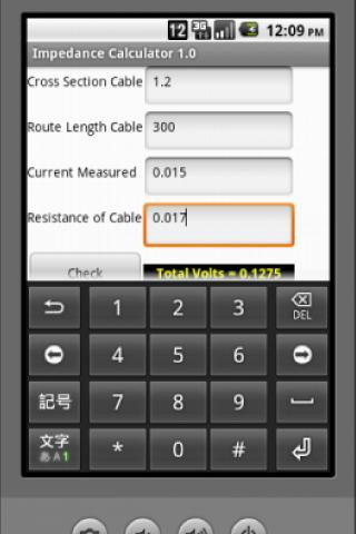 Impedance Calc FREE- screenshot