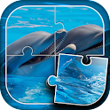 Dolphins Jigsaw Puzzle icon