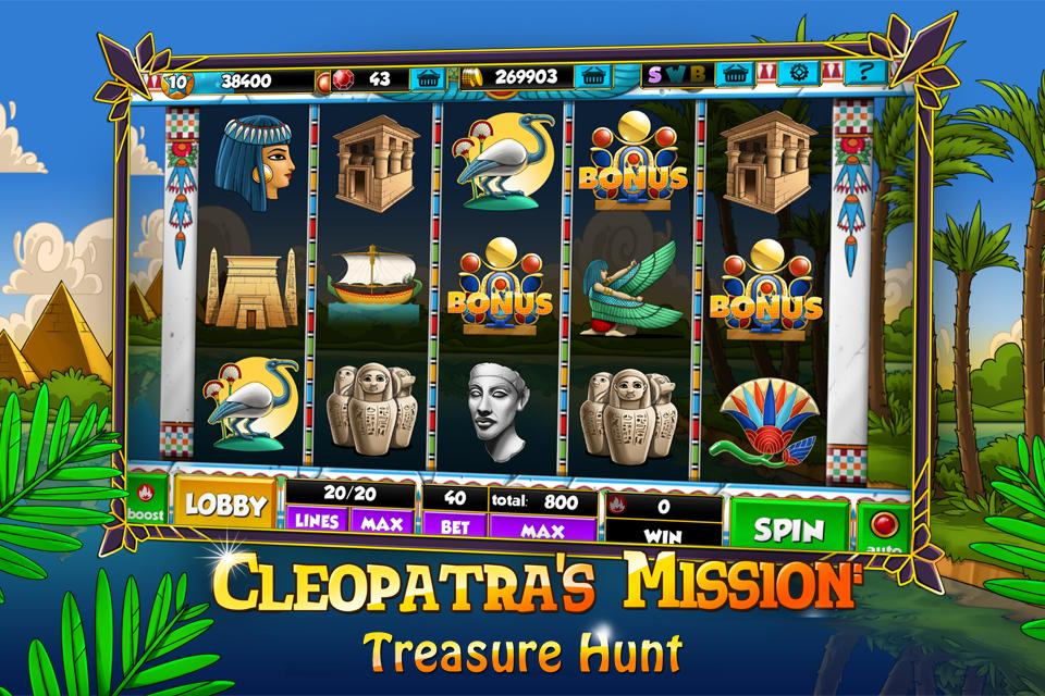 Cleopatra's Mission™ Slots- screenshot