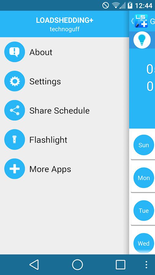 Load Shedding + - screenshot