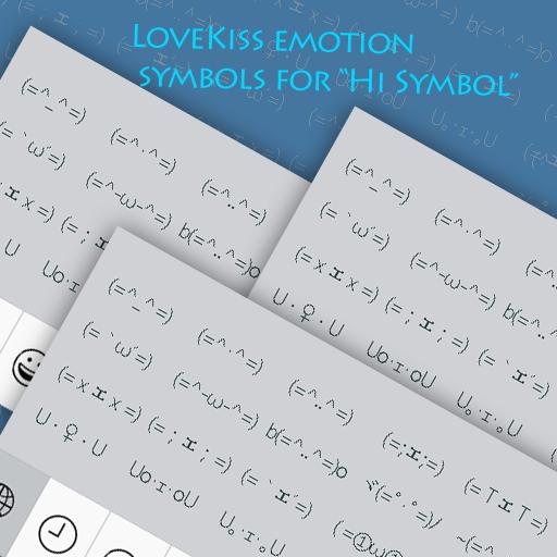 LoveKiss emotion symbols