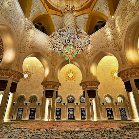 Majestic by CJ Cantos - Buildings & Architecture Other Interior ( interior, color, wide angle, colors, buildings, abu dhabi, wide, architecture )