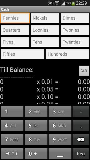 Cashier Till Balancing