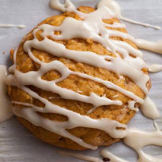 Spiced Pumpkin-Oatmeal Cookies.