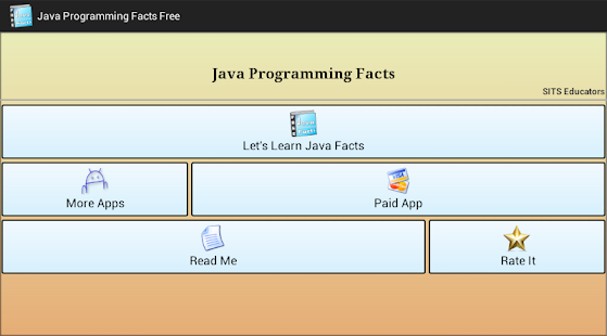 Java Programming Facts Free