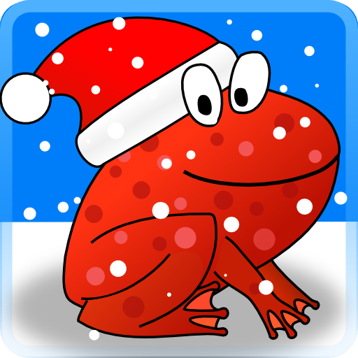 Christmas Frogs 3D