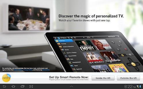 Peel Smart Remote (Galaxy Tab) - screenshot thumbnail