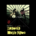 Android Music Hero logo