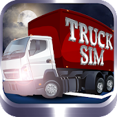 Truck Sim - 3D Night Parking