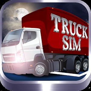 Truck Sim: 3D Night Parking 模擬 App LOGO-硬是要APP